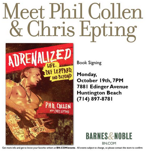 Phil Collent - Book Signing
